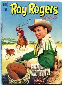 ROY ROGERS COMICS #52-RARE-NICE COPY FN