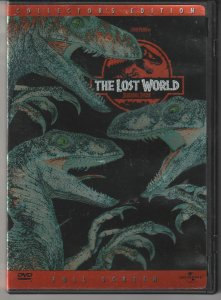 Jurassic Park The Lost World DVD   Dinosaurs Are Back !