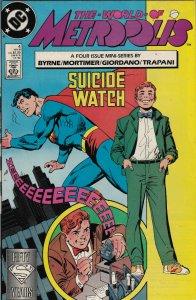 DC Comics! The World of Metropolis! Issue 4!