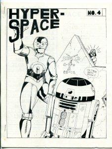 Hyper Space #4 1978-  Early Star Wars Fanzine Fan Fiction VF