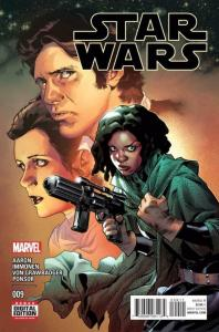 STAR WARS #9, VF+, Luke Skywalker, Darth Vader, 2015, more SW in store