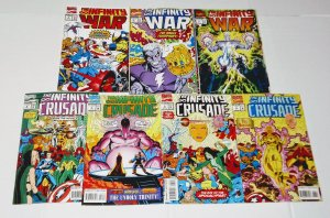 Infinity War & Infinity Crusade Comic Lot of (7) Thanos! Jim Starlin CL#050