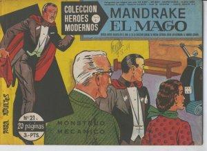 Heroes Modernos serie C numero 21: Mandrake el Mago