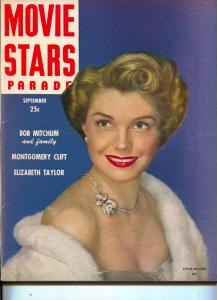 Movie Stars Parade-Esther Williams-Arlene Dahl-Robert Mitchum-Sept-1949