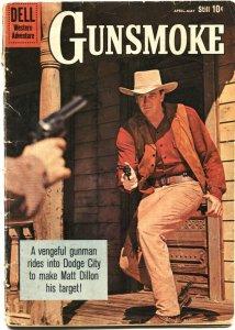 GUNSMOKE #20-JAMES ARNES PHOTO COVER-TV SERIES ISSUE-1960-DELL