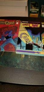 Johnny quest comic book Lot