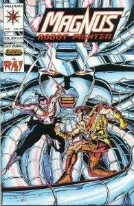 Magnus Robot Fighter (1991 series) #37, VF+ (Stock photo)