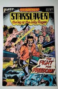 Starslayer #9 (1983) First Comic Book J756