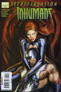 Secret Invasion: Inhumans #4 VG; Marvel | low grade comic - save on shipping - d