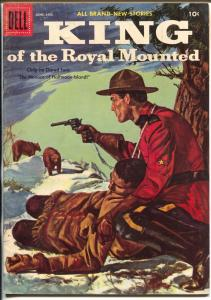 King of The Royal Mounted #21 1956-Dell-Zane Grey-RCMP-FN/VF