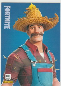 Fortnite Hayseed 118 Uncommon Outfit Panini 2019 trading card series 1