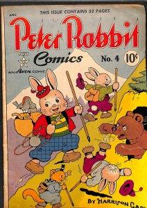 Peter Rabbit Comics #4 VG 4.0