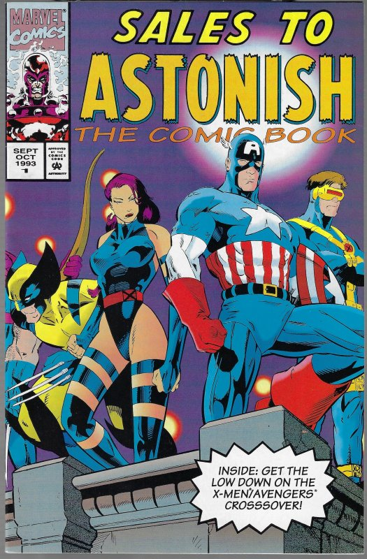 Sales to Astonish #1 (Marvel, 1992)