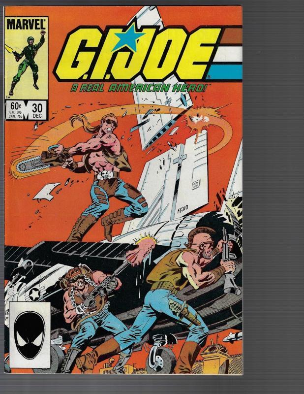 GI Joe, A Real American Hero #30 (Marvel, 1984) VF+