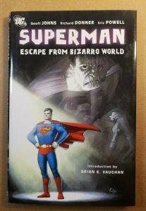 SUPERMAN ESCAPE FROM BIZARRO WORLD HARD COVER GRAPHIC NOVEL ERIC POWELL