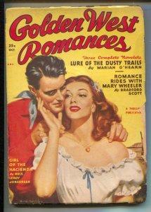 Golden West Romances #1 10/1949-First issue-Bradford Scott & Nels Leroy Jorge...