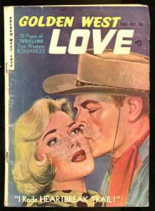 GOLDEN WEST LOVE #1 1949 BOB POWELL SPICY PANELS G/VG
