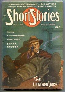 Short Stories Pulp 3/10/49- Leather Duke Frank Gruber