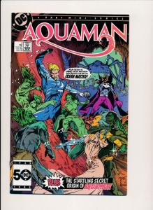 DC Comics AQUAMAN #3, 1986 Mini Series (HX668) ~ F/VF