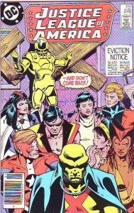 Justice League of America #246 (Jan-86) NM Super-High-Grade Justice League of...