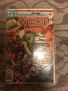 Weird war tales 93 first creature commandos