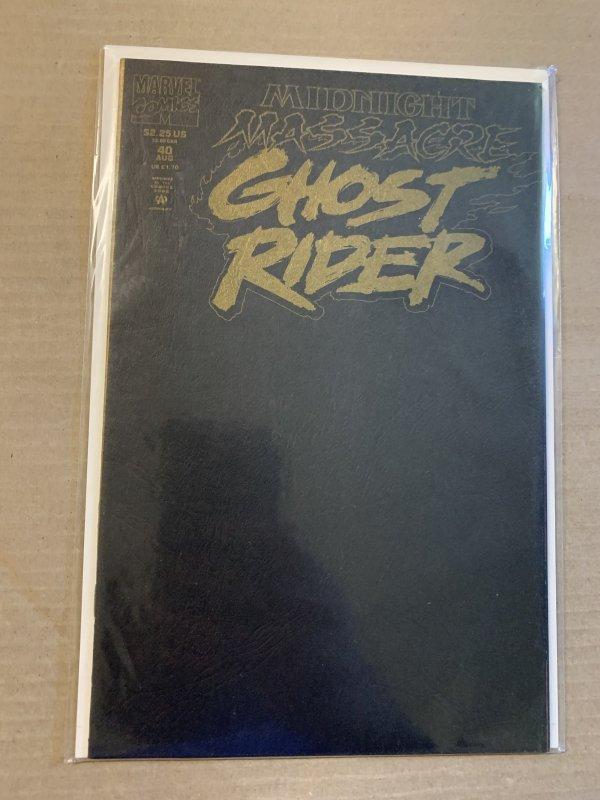 MIDNIGHT MASSACRE PARCHMENT Set: includes Darkhold, Ghost Rider, NighStalker ex