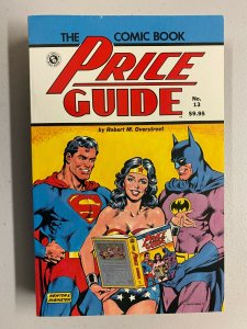 The Comic Book Price Guide Batman WonderWoman Superman #13 Softcover 6.0FN(1983)