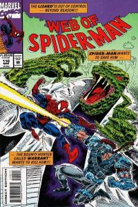 Web of Spider-Man (1985 series) #110, NM- (Stock photo)