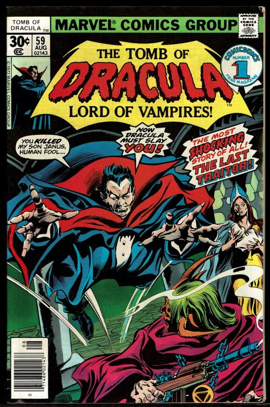 Tomb of Dracula #59  (Aug 1977 Marvel)  8.0 VF