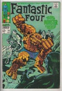 Fantastic Four #79 (Oct-68) FN/VF Mid-High-Grade Fantastic Four, Mr. Fantasti...