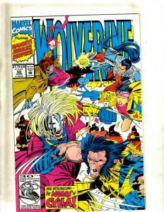 Lot of 14 Wolverine Comics #55 56 57 58 59 60 61 62 63 64 65 66 67 68 J404