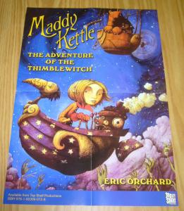 Maddy Kettle: the Adventure of the Thimblewitch poster 20 x 14 eric orchard