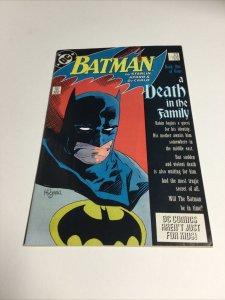 Batman 426 Vf Very Fine 8.0 Death in the Family DC Comics