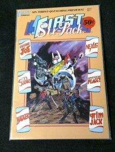 FIRST SIX PACK #1, NM, Badger, Nexus, First, 1987, more in store