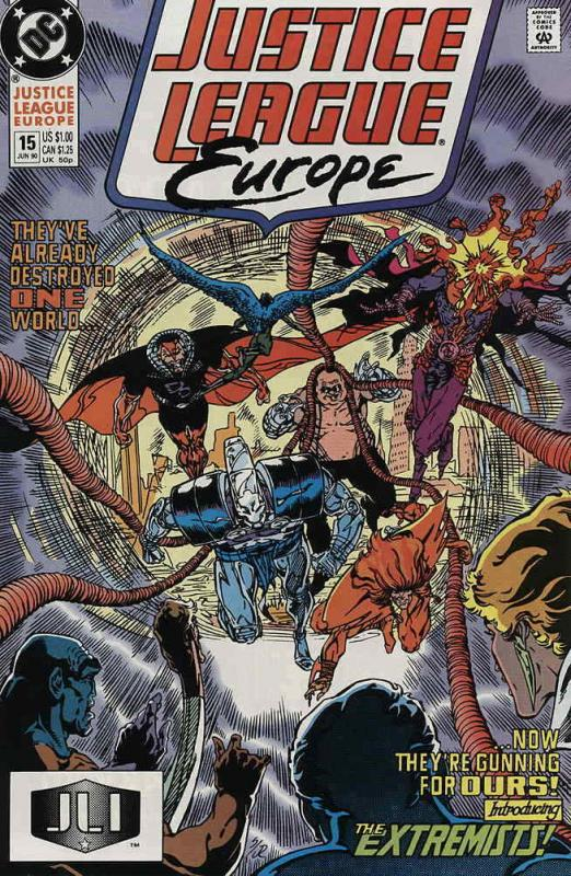 Justice League Europe #15 VF/NM; DC | save on shipping - details inside