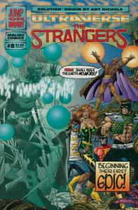 Strangers, The #8 VF/NM; Malibu | save on shipping - details inside