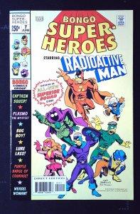 Bongo Comics Presents Radioactive Man #7 (2003)