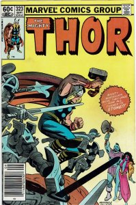 Thor #323 (1966 v1) Loki Fear & Desire Newsstand VF-