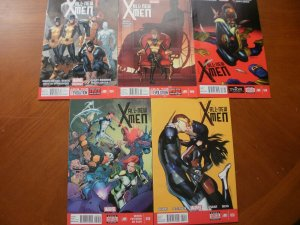 5 Near-Mint Marvel ALL-NEW X-MEN Comic #1 #6 #18 #19 #20 (2013 2014 Bendis Silva