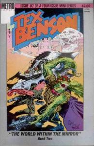 Tex Benson (1986 series) #2, Fine- (Stock photo)