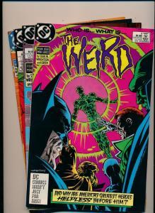 DC Comics Set of 4 THE WEIRD #1-4 (1,2,3,4) ~ F/VF (PF319)