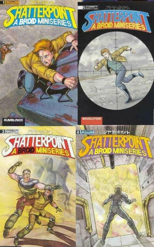 SHATTERPOINT (1990 ET) 1-4 'A Broid MiniSeries'