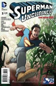 Superman Unchained #3I VF/NM; DC | save on shipping - details inside