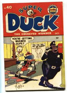 Super Duck #40 1952- Golden Age Archie Funny Animals-VF-