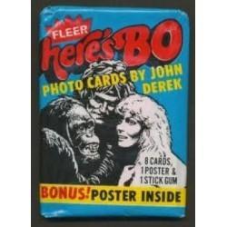 1981 Fleer HERE'S BO Unopened Wax Pack