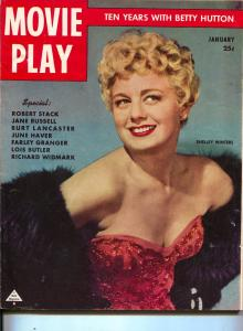 Movie Play-Shelley Winters-Roy Rogers-Bette Davis-Betty Hutton-Jan-1951