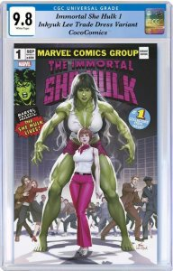 Immortal She Hulk #1 CGC 9.8 Marvel 2020 Inhyuk Lee TD Var PRE-ORDER 9/30/2020