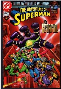 Adventures of Superman #595 (DC, 2001)
