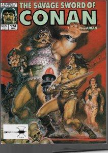 Savage Sword of Conan #174 (Marvel, 1990)
