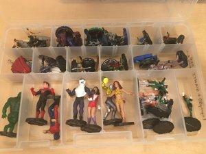 DC Heroclix 40 Figures LEGACY & GIANTS & GLC Ra's Al-Ghul Giganta Alloy MFT4